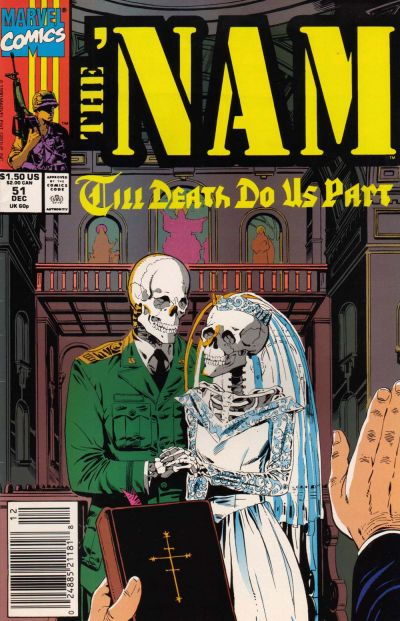 Cover for The 'Nam (Marvel, 1986 series) #51