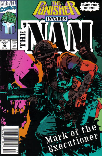 Cover for The 'Nam (Marvel, 1986 series) #53