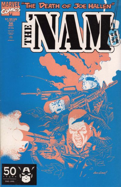 Cover for The 'Nam (Marvel, 1986 series) #56