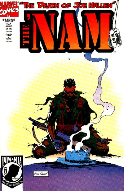 Cover for The 'Nam (Marvel, 1986 series) #57