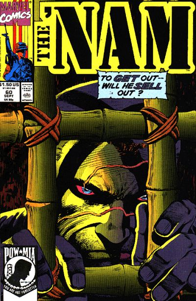 Cover for The 'Nam (Marvel, 1986 series) #60