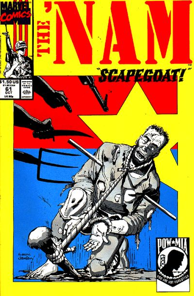 Cover for The 'Nam (Marvel, 1986 series) #61