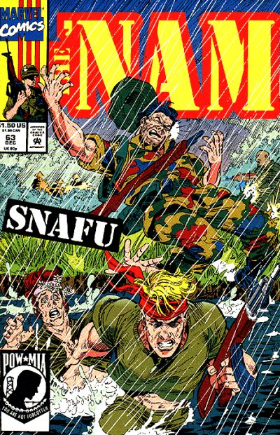 Cover for The 'Nam (Marvel, 1986 series) #63