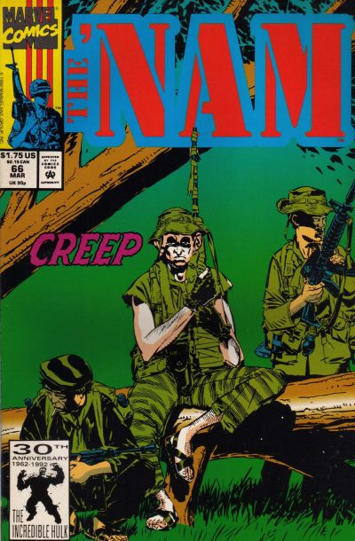 Cover for The 'Nam (Marvel, 1986 series) #66