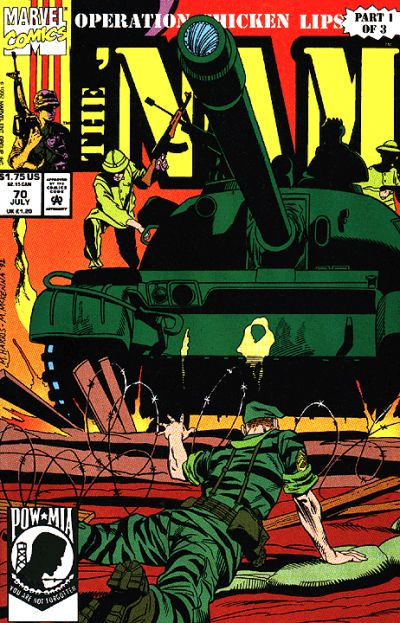 Cover for The 'Nam (Marvel, 1986 series) #70