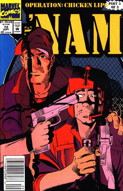 Cover for The 'Nam (Marvel, 1986 series) #72 [Direct]