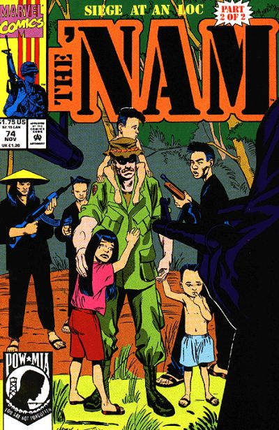 Cover for The 'Nam (Marvel, 1986 series) #74