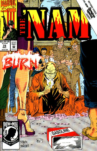 Cover for The 'Nam (Marvel, 1986 series) #75