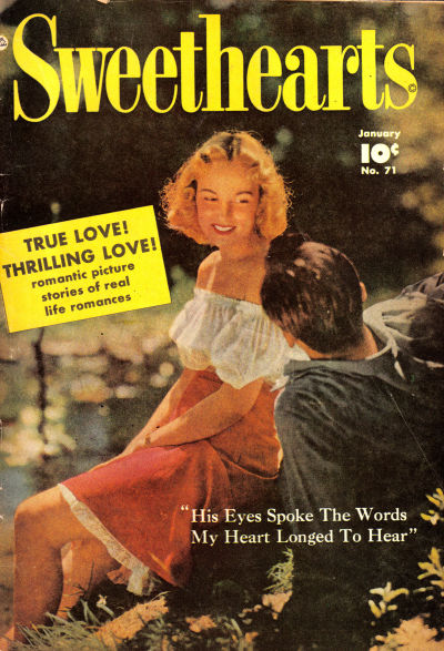 Cover for Sweethearts (Fawcett, 1948 series) #71