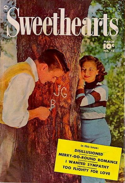Cover for Sweethearts (Fawcett, 1948 series) #73