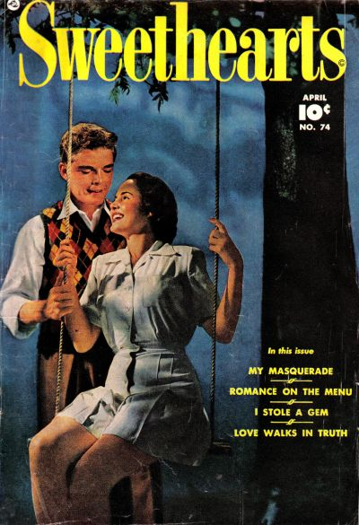 Cover for Sweethearts (Fawcett, 1948 series) #74