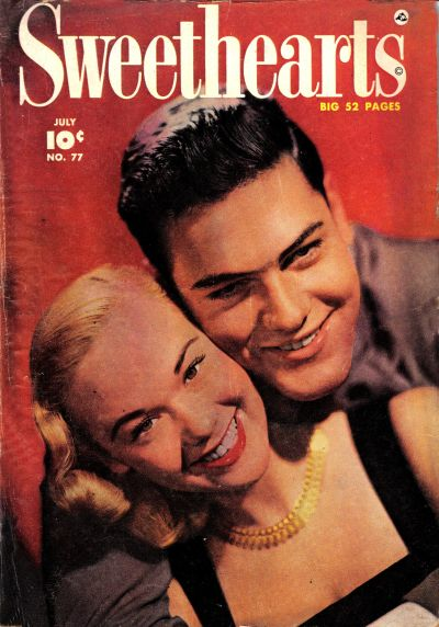 Cover for Sweethearts (Fawcett, 1948 series) #77