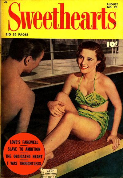Cover for Sweethearts (Fawcett, 1948 series) #78