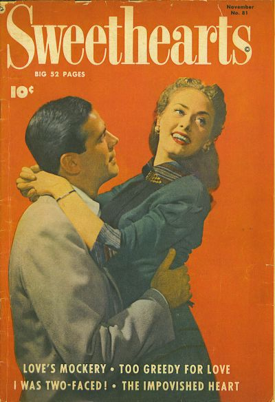 Cover for Sweethearts (Fawcett, 1948 series) #81