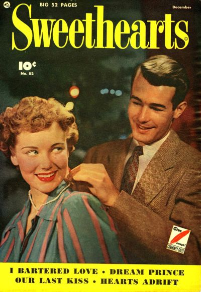 Cover for Sweethearts (Fawcett, 1948 series) #82