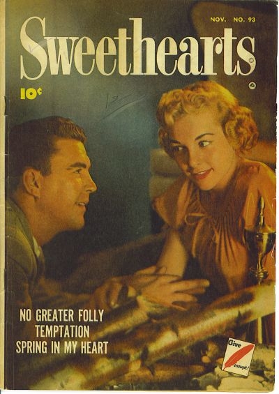 Cover for Sweethearts (Fawcett, 1948 series) #93