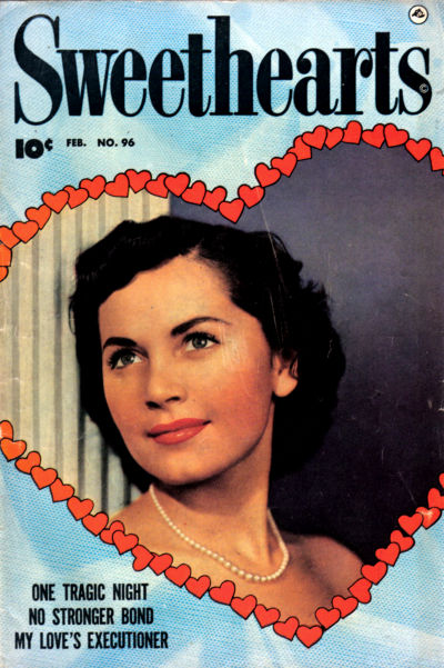 Cover for Sweethearts (Fawcett, 1948 series) #96