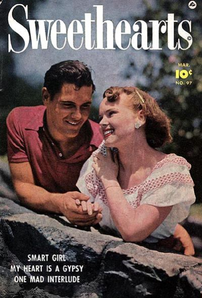 Cover for Sweethearts (Fawcett, 1948 series) #97