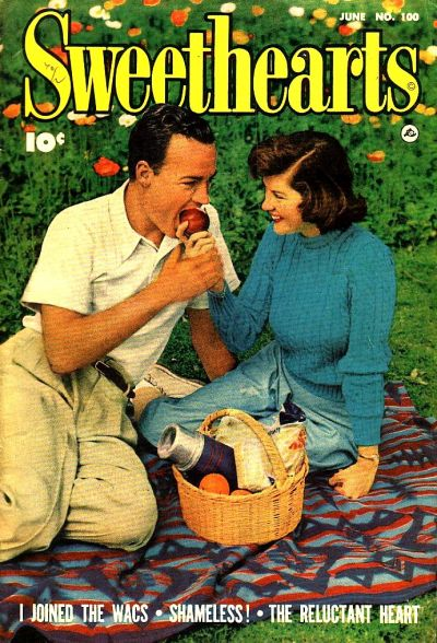 Cover for Sweethearts (Fawcett, 1948 series) #100