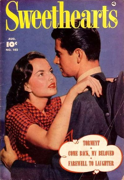 Cover for Sweethearts (Fawcett, 1948 series) #102