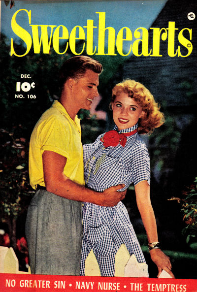 Cover for Sweethearts (Fawcett, 1948 series) #106