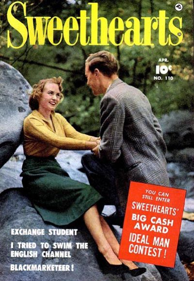 Cover for Sweethearts (Fawcett, 1948 series) #110