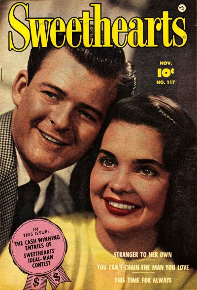 Cover for Sweethearts (Fawcett, 1948 series) #117