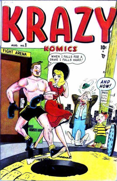 Cover for Krazy Komics (Marvel, 1948 series) #1