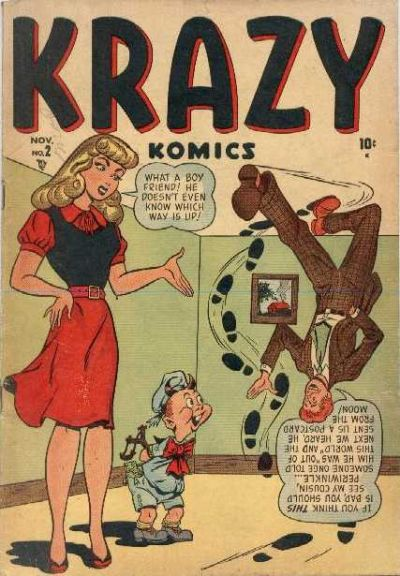 Cover for Krazy Komics (Marvel, 1948 series) #2