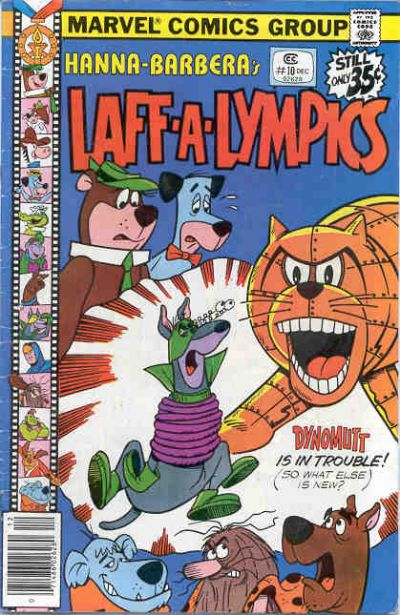 Cover for Laff-A-Lympics (Marvel, 1978 series) #10