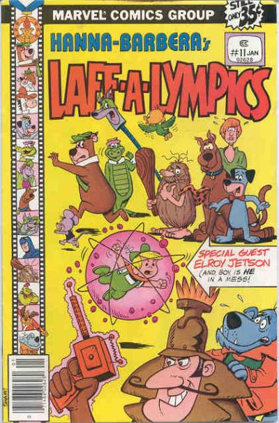 Cover for Laff-A-Lympics (Marvel, 1978 series) #11