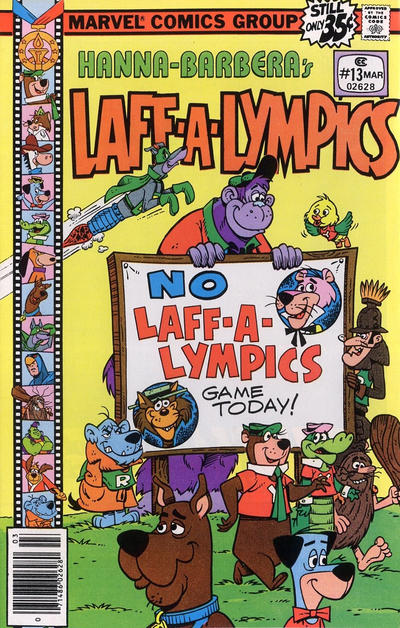 Cover for Laff-A-Lympics (Marvel, 1978 series) #13