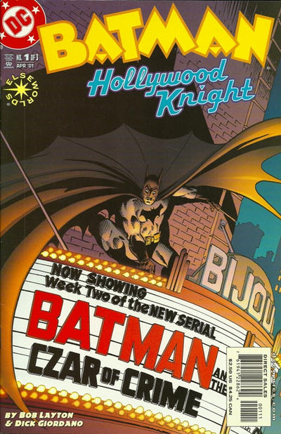 Cover for Batman: Hollywood Knight (DC, 2001 series) #1