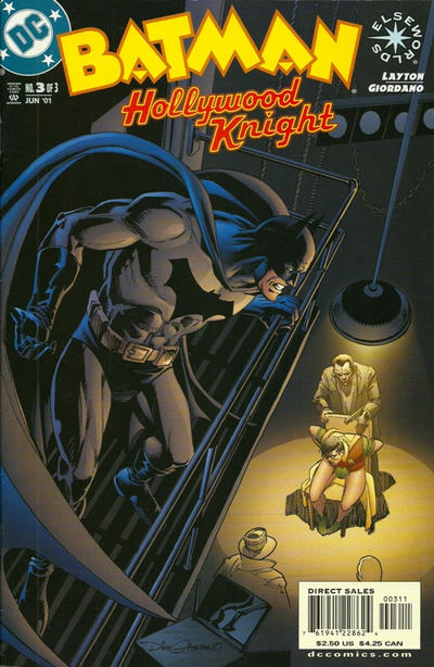 Cover for Batman: Hollywood Knight (DC, 2001 series) #3