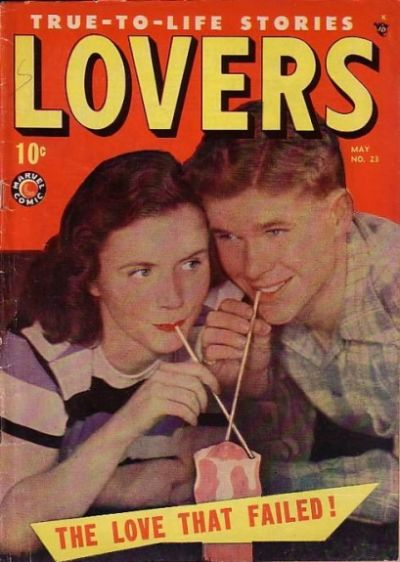 Cover for Lovers (Marvel, 1949 series) #23