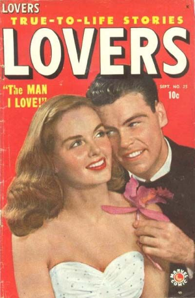 Cover for Lovers (Marvel, 1949 series) #25