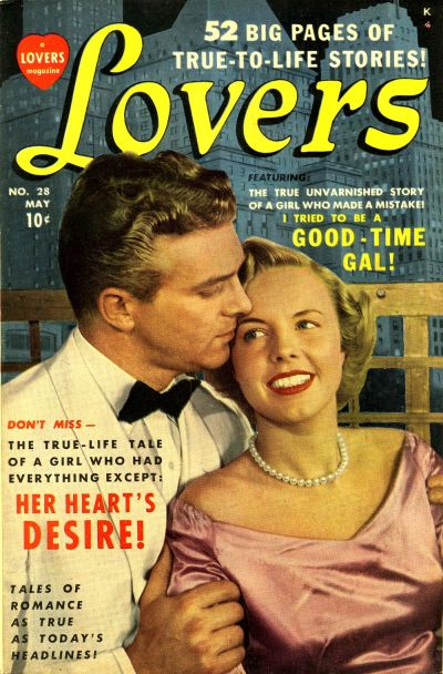 Cover for Lovers (Marvel, 1949 series) #28