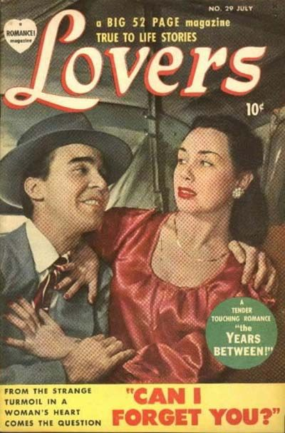 Cover for Lovers (Marvel, 1949 series) #29 [August date on cover]