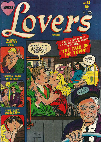Cover for Lovers (Marvel, 1949 series) #38