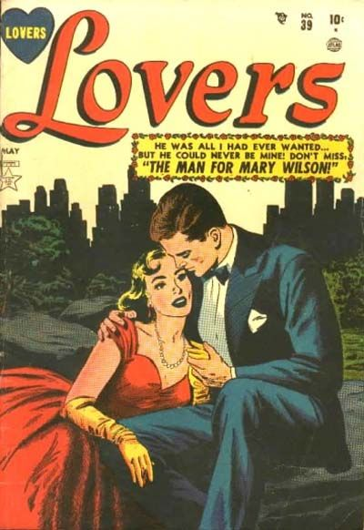 Cover for Lovers (Marvel, 1949 series) #39