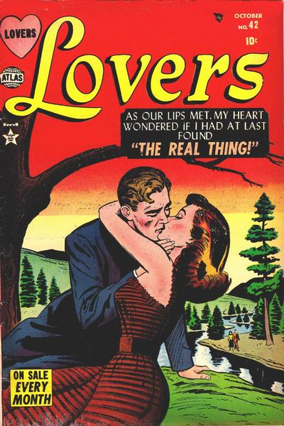 Cover for Lovers (Marvel, 1949 series) #42