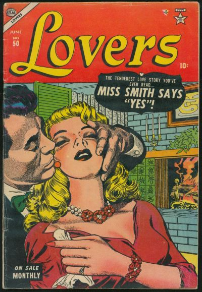Cover for Lovers (Marvel, 1949 series) #50