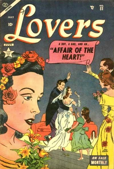 Cover for Lovers (Marvel, 1949 series) #51