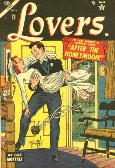 Cover for Lovers (Marvel, 1949 series) #55