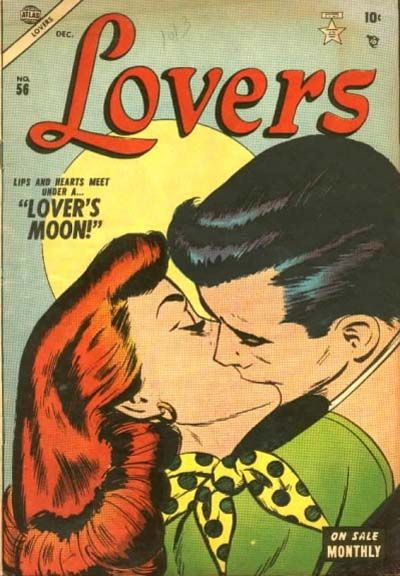 Cover for Lovers (Marvel, 1949 series) #56