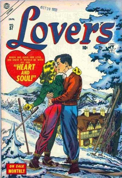 Cover for Lovers (Marvel, 1949 series) #57