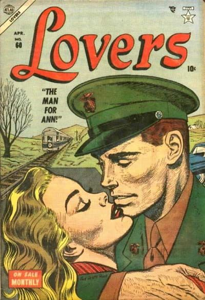 Cover for Lovers (Marvel, 1949 series) #60