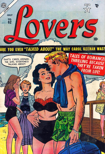 Cover for Lovers (Marvel, 1949 series) #62