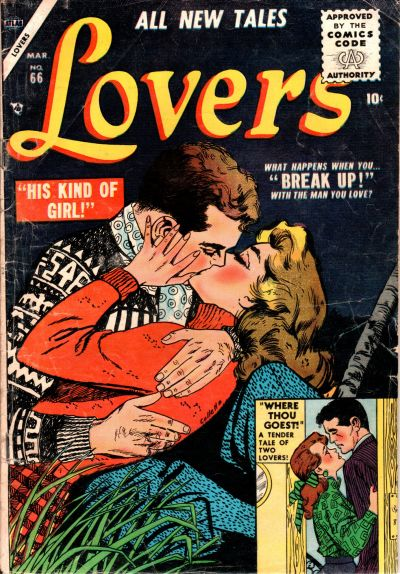 Cover for Lovers (Marvel, 1949 series) #66
