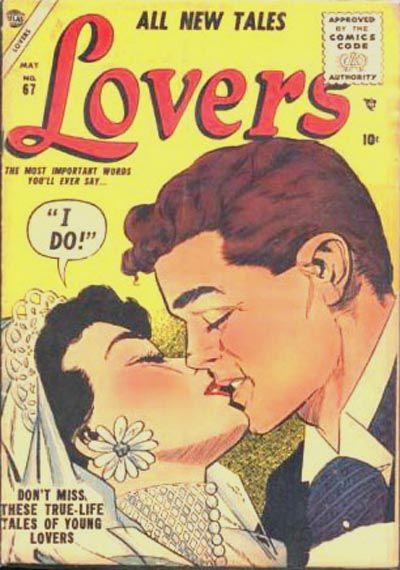 Cover for Lovers (Marvel, 1949 series) #67